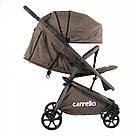 Коляска прогулочная CARRELLO Magia CRL-10401 Brown, фото 2