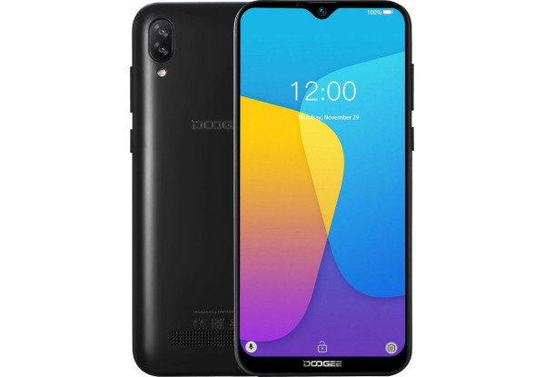 Doogee Y8C black смартфон 1/8GB ,8MP 6.1'', + подарок