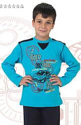 Дитяча піжама для хлопчика Race блакитна/тсин (OZTAS, Туреччина)