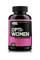 Витамины optimum nutrition opti women 120cap