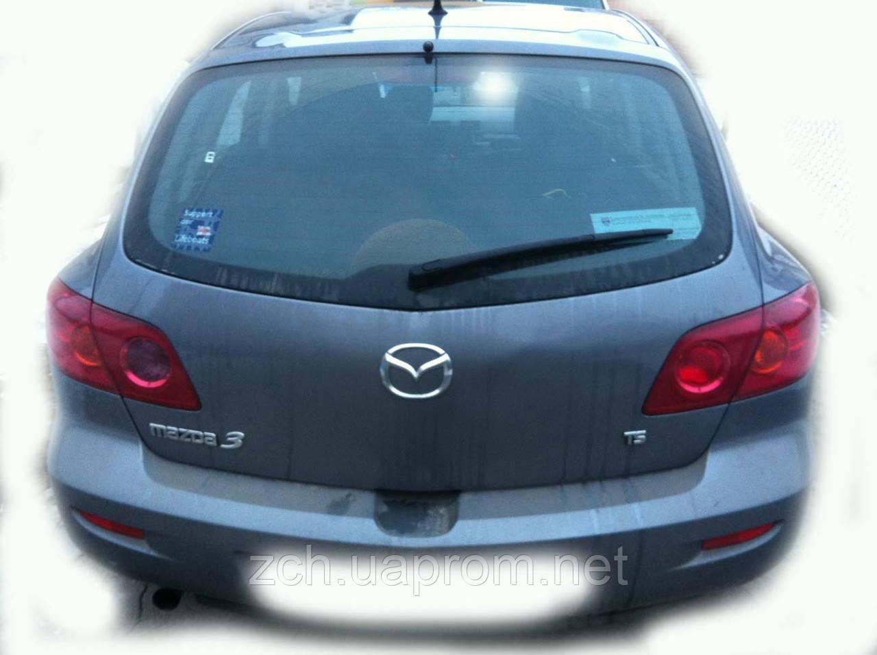 Панель задняя Mazda 3 Хэтчбек