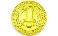 Медаль спортивная без ленты CELEBRITY d-4,5см C-6408 (металл, d-4,5см, 20g 1-золото, 2-серебро, 3-бронза) КодC-6408