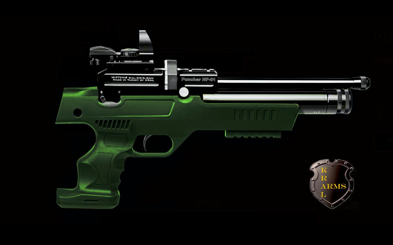 Пневматический пистолет Kral NP-01 PCP 4,5 мм