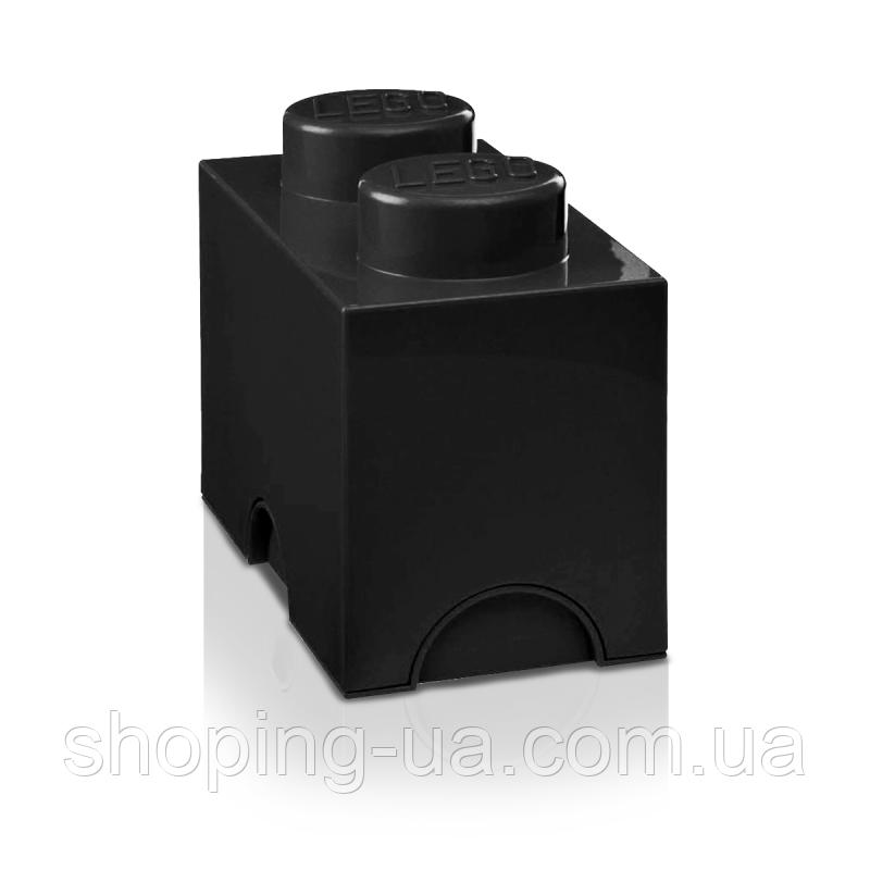 Двухточечный черный контейнер для хранения Lego 40021733