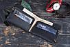 Мужской кожаный кошелек Тур, черный , фото 2