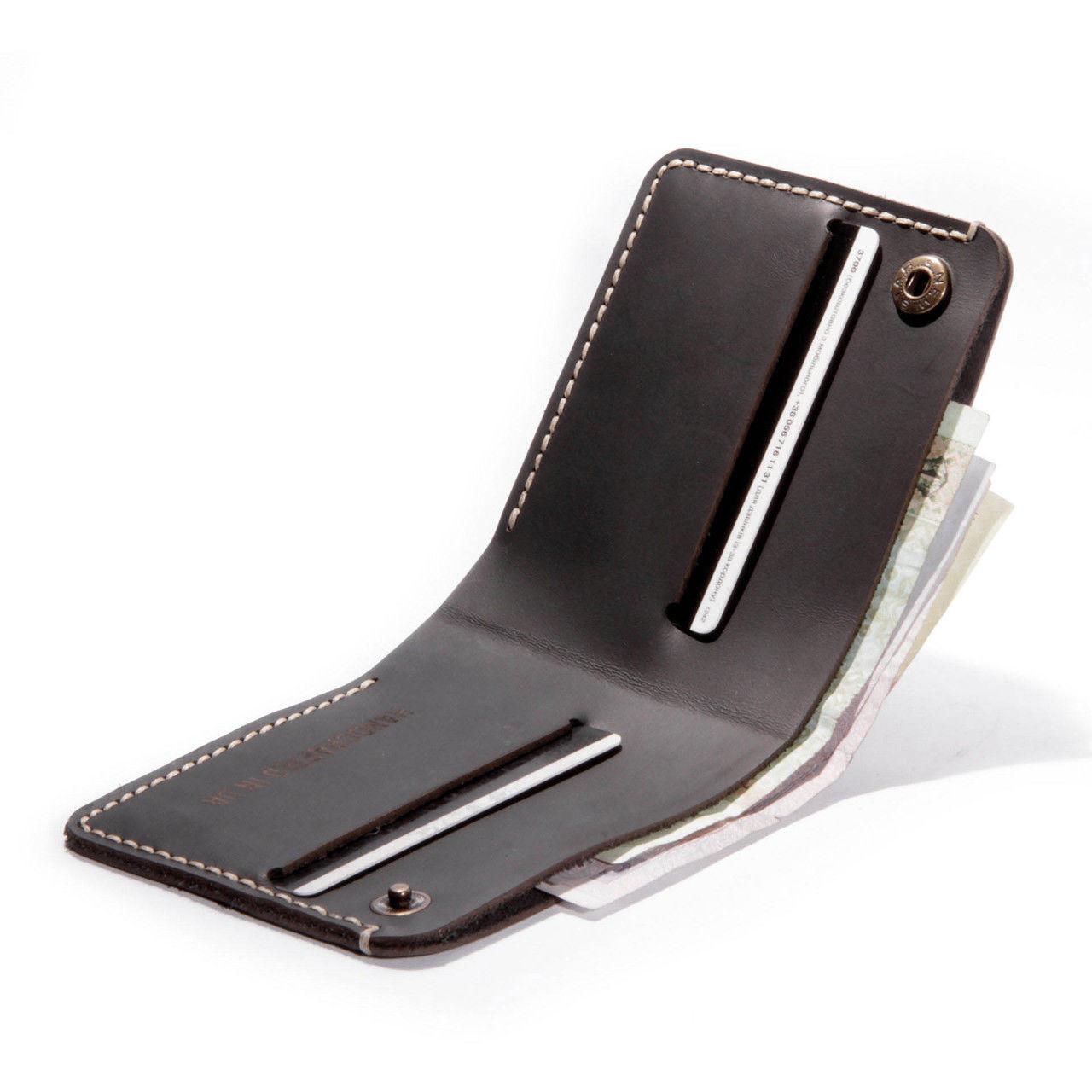 Мужской бумажник/кошелек Fix, черный