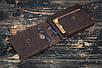 Зажим для денег кожаный Stayer, коричневый, фото 4