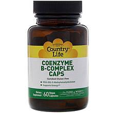 "Коэнзим В-комплекс Country Life ""Coenzyme B-Complex Caps"" кофермент (60 капсул)"