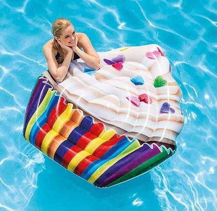 """Надувной матрас-плот для плавания Intex """"Кекс"""" 58770, фото 2"""