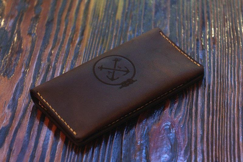 Travel Case — мужской клатч-портмоне, brown