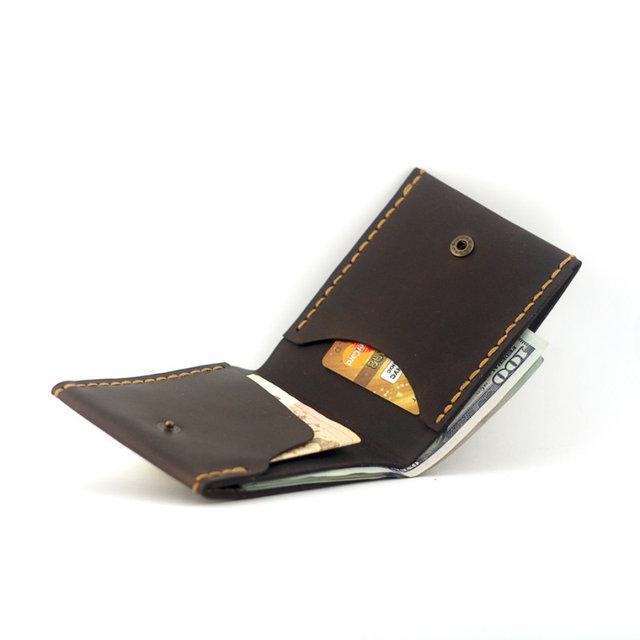 Кошелек портмоне мужской Wallet 2 Brown