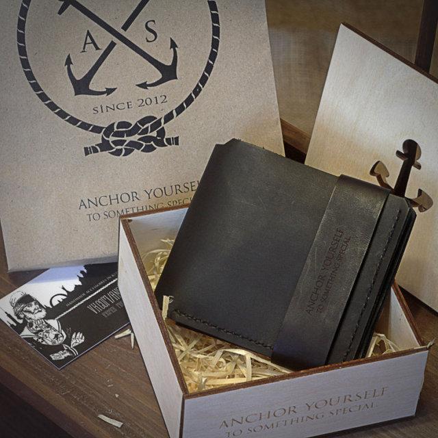Кошелек портмоне мужской Wallet Black