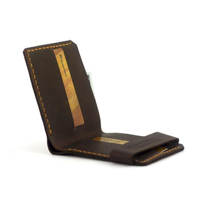 Кошелек портмоне мужской Wallet Brown
