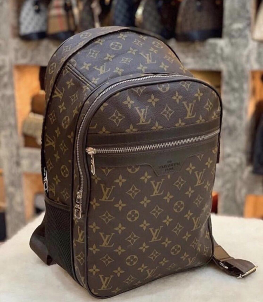 Рюкзак LV Louis Vuitton высокого качества (реплика Луи Витон) Vintage