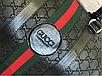 Сумка  спортивная Gucci дорожная (реплика) Black, фото 3