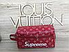 Универсальная барсетка/клатч Louis Vuitton LV Supreme (реплика), фото 3