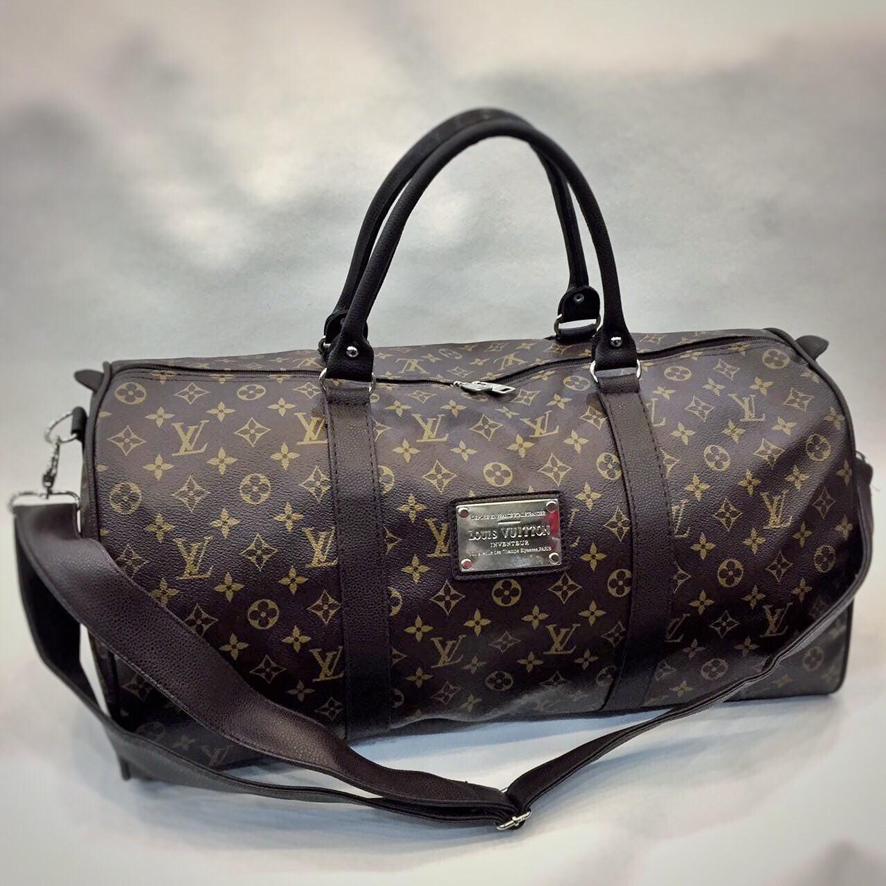 Дорожная Сумка ручная кладь Louis Vuitton LV  Vintage (реплика)