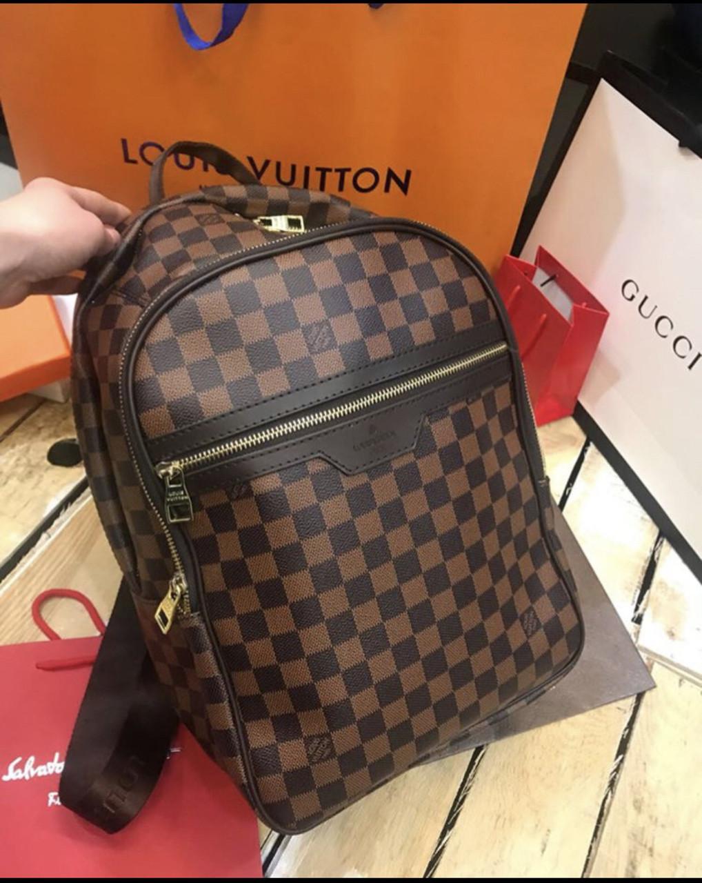 Рюкзак  Louis Vuitton ручная кладь люкс (реплика Луи Витон) Brown