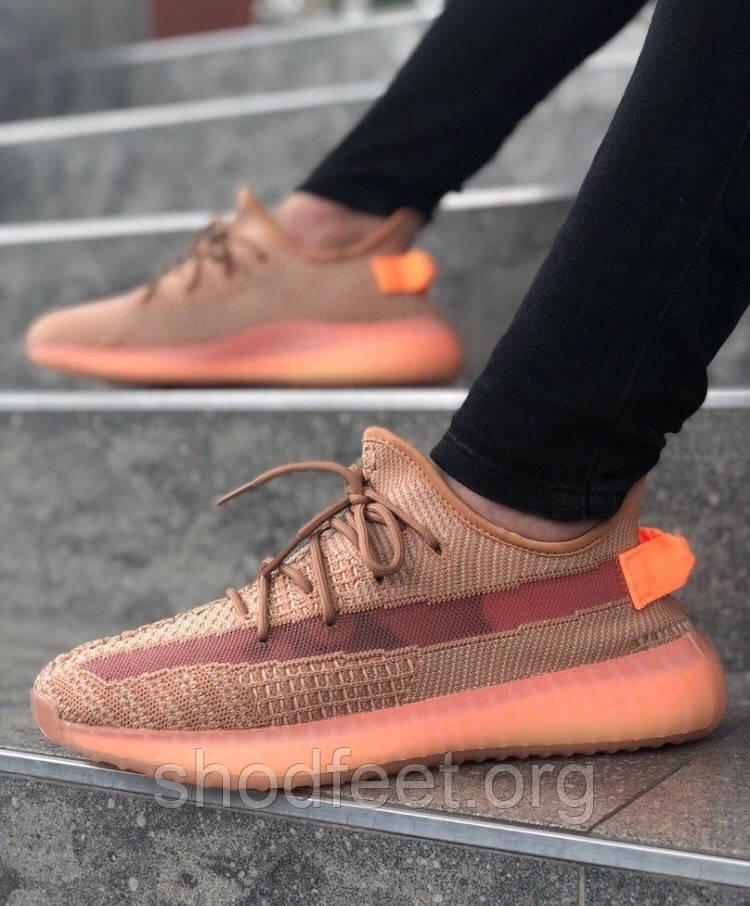 Женские кроссовки Adidas Yeezy Boost 350 V2 Clay