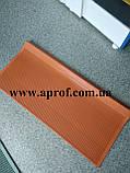 Противоскользящая резиновая накладка на ступени 750х330 мм (ОРАНЖЕВАЯ), фото 2