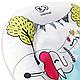 Яркий шезлонг-качалка Kinderkraft Smartfun с вибрацией, фото 10