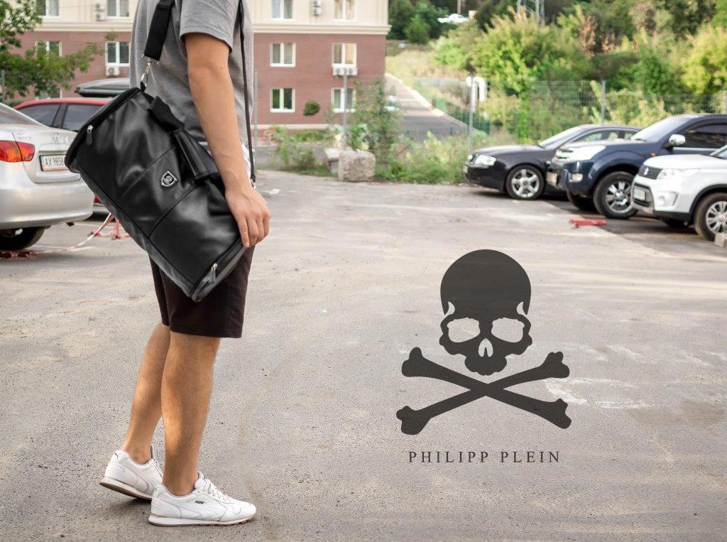 Сумка мужская бочка mod.Philipp Plein