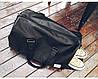 Мужская кожаная сумка T3 BAG черная, фото 3