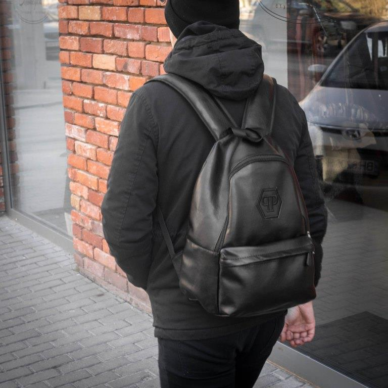 Рюкзак кожаный мужской Philipp Plein
