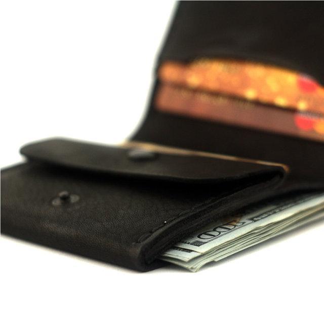 Кошелек портмоне мужской Wallet 3 Black