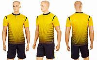 Футбольная форма Brill CO-16004-Y (PL, р-р S-2XL-42-54 рост 160-190см, желтый, шорты черные) КодCO-16004-Y