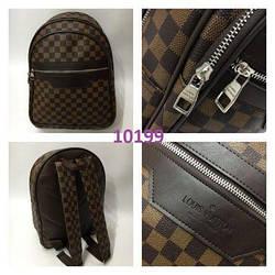 Рюкзак LV Louis Vuitton высокого качества (реплика Луи Витон) Monogram Brown