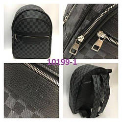 Рюкзак ранец портфель LV Louis Vuitton высокого качества (реплика Луи Витон) Monogram Black