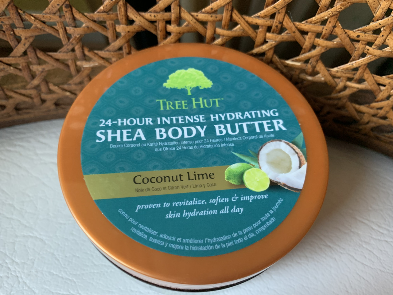 Баттер для тела Tree Hut Shea Body Butter   COCONUT LIME