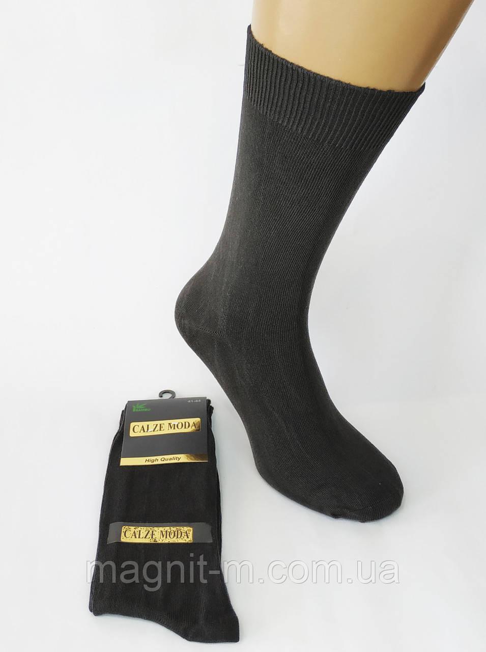 "Шкарпетки преміум класу ""Calze Moda"". Бамбук. Туреччина. Чорні. Р-Р 41-44."