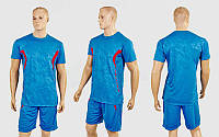 Футбольная форма Prestige CO-1008-B (PL, р-р M-2XL-44-50, рост 165-180см, синий-красный, шорты синие) КодCO-1008-B