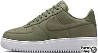 Женские кроссовки Nike Air Force 1 Low Green/White, найк, айр форс