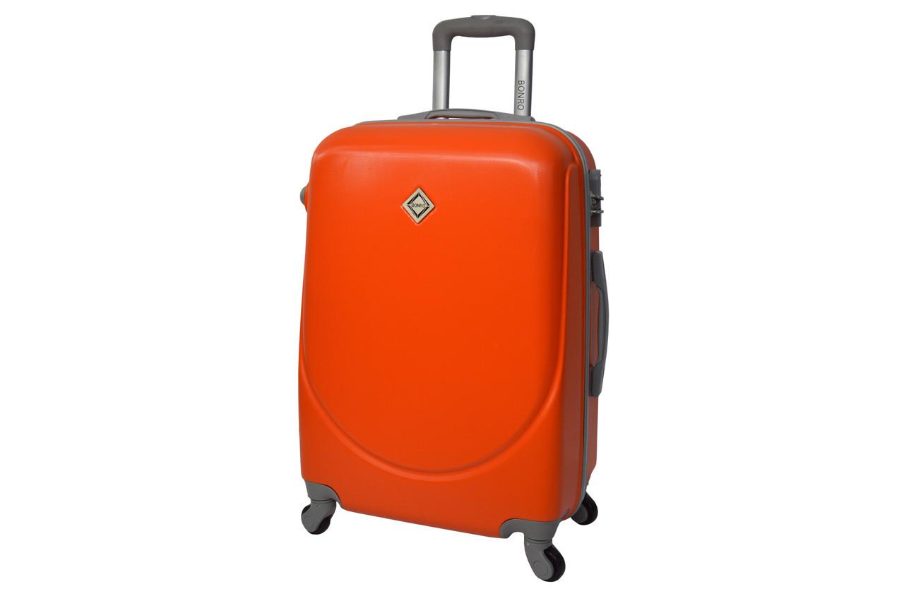 Чемодан Bonro Smile (большой) оранжевый