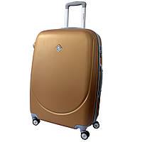 Чемодан Bonro Smile с двойными колесами (большой) золотой, фото 1