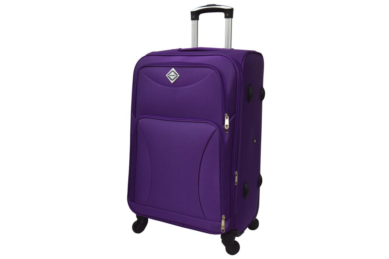 Чемодан на 4 колесах Bonro Tourist (большой) фиолетовый