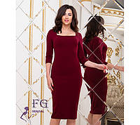 """Женское элегантное платье миди """"Розалия"""" #A/S"""