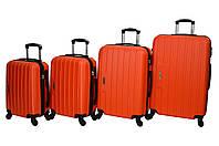 Чемодан Siker Line набор 4 штуки оранжевый, фото 1