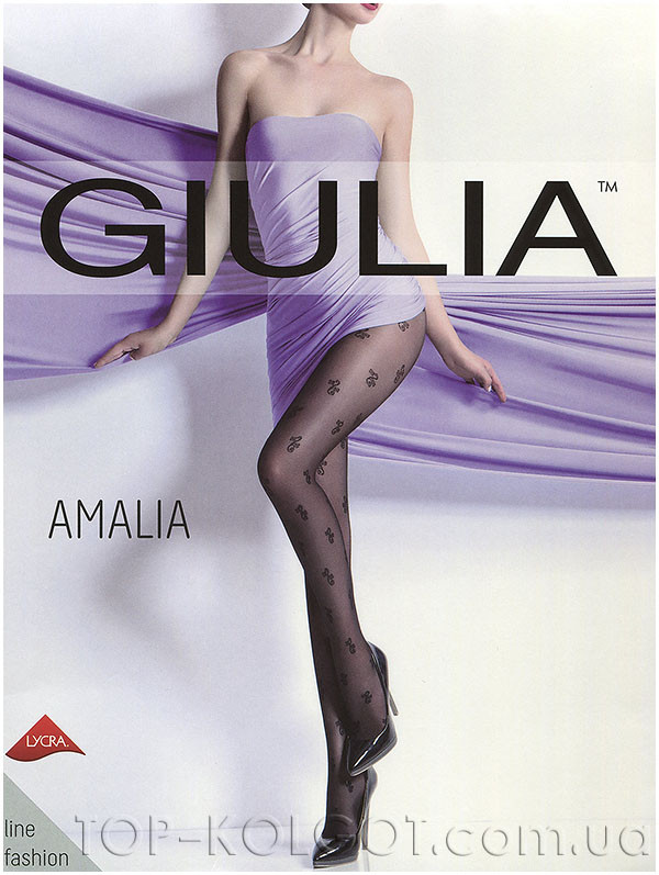 e2f4818230ce Колготки с узором GIULIA Amalia 20 model 5