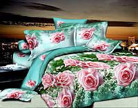 """Комплект полуторного постельного белья """"Розы"""""""