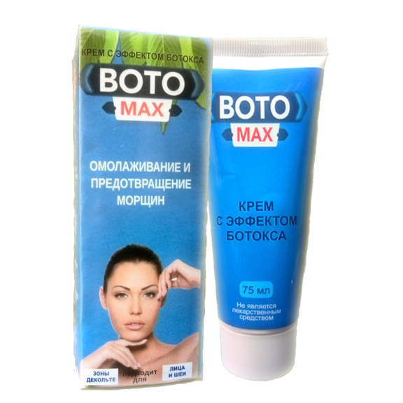 BOTO MAX - крем-спрей с эффектом ботокса в Сызрани