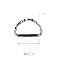 Полукольцо проволочное 30мм, 2,8мм (d)