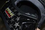 Бюджетный кроссовый шлем в комплекте с маской и перчатками. Размер M., фото 3