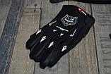 Бюджетный кроссовый шлем в комплекте с маской и перчатками. Размер M., фото 8