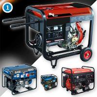 Сварочные генераторы с мотоприводом