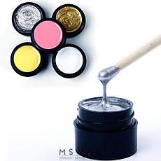 Rosalind Гель краска 5ml Тон 820 светлый дымно мятный эмаль, фото 3