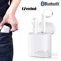 Bluetooth наушники-гарнитура беспроводные TWS i7 mini (аналог Airpods)